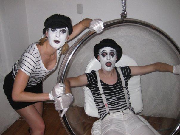 Mimes Halloween 2009