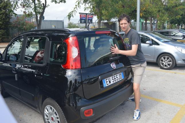 Fiat car rental-Italy