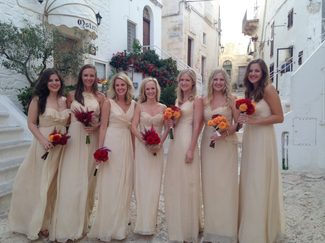 Ostuni wedding party